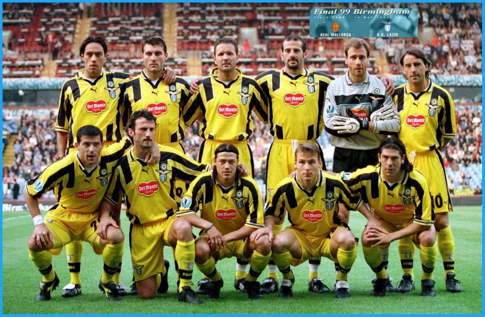 Mallorca v Lazio 1999 Final Cupwinners Cup – S.S. LAZIO – 9 ...