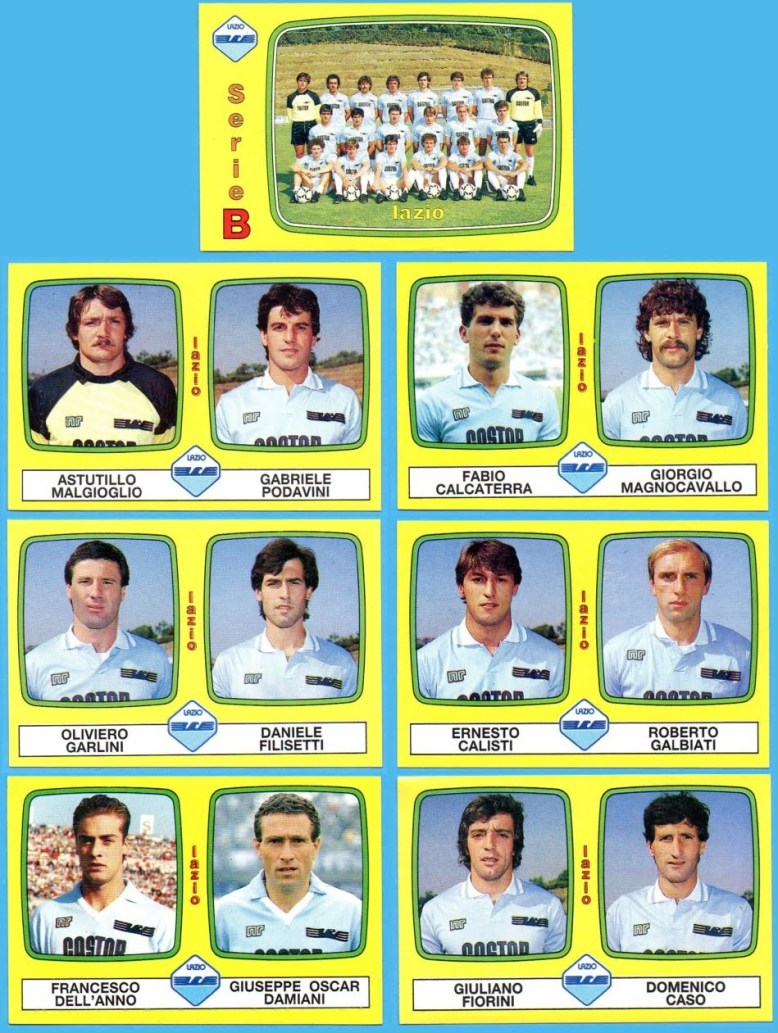 Afbeeldingsresultaat voor Lazio 1985-1986