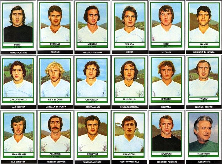 1974 Campione D' Italia – S.S. LAZIO – 9 GENNAIO 1900