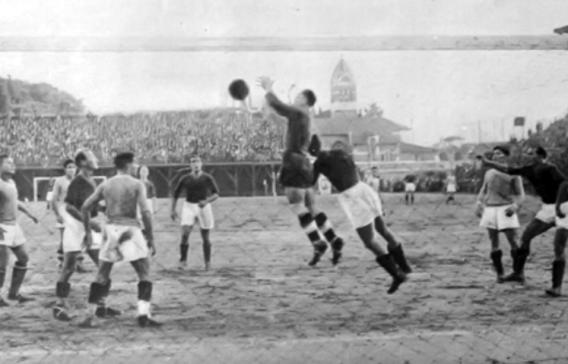 roma_lazio_1_novembre_1933_azione_di_gioco